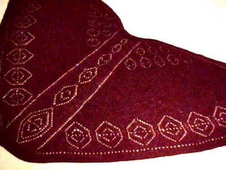 More lace shawls, and lace accessories knitting patterns by HeartStrings